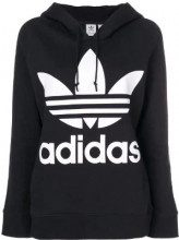 Adidas - Felpa con cappuccio - women - Cotton - 38, 40, 42, 44 - BLACK