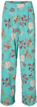 VERO MODA Floral Trousers Women Blue