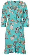 VERO MODA Floral Dress Women Blue