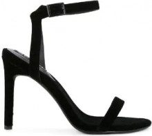 Senso - Sandali 'Tyra' - women - Velvet/Synthetic Resin/Kid Leather - 35, 36, 37, 38, 40, 41 - Nero