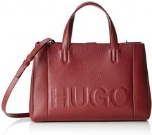 HUGO Mayfair Tote - Borse Donna, Rosso (Dark Red), 15x24.5x36 cm (B x H T)