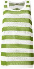 MRZ - Top a strisce - women - Silk/Cotone/Cashmere - S, M - Verde