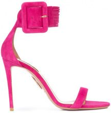Aquazzura - Casablanca sandals - women - Leather/Suede - 36, 37, 38, 39, 40, 41 - Rosa & viola