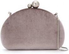 Isla - velvet clutch - women - Polyester/Velvet/metal - OS - PINK & PURPLE