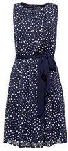 ESPRIT Collection 028eo1e019, Vestito Elegante Donna, Blu (Navy 400), 46 (Taglia Produttore: 40)