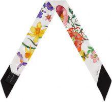 Gucci - Papillon con stampa Flora - women - Silk - One Size - WHITE