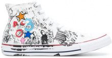 Converse - Sneakers alte 'Chuck Taylor All Star' - men - rubber/Polyester - 39, 40, 42.5, 36, 37, 38, 42 - WHITE