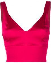 Murmur - Top corto - women - Acetate/Polyamide/Spandex/Elastane/Polyester - 36 - RED