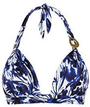 Cyell 107, Bikini Top Donna, Blau (Secret Garden 618), 38C
