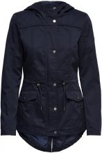 ONLY Solid Jacket Women Blue