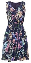 ESPRIT Collection 058eo1e028, Vestito Donna, Blu (Navy 400), 40 (Taglia Produttore: 34)