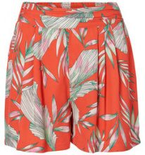 VERO MODA Flower Shorts Women Red