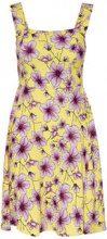 ONLY Printed Sleeveless Dress Women Yellow