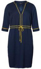 JUNAROSE Contrast Colored Dress Women Blue