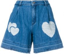 Love Moschino - Shorts in denim - women - Cotone - 40, 42 - Blu