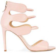 Chloe Gosselin - strappy stiletto sandals - women - Calf Leather - 36.5, 37, 39, 40 - PINK & PURPLE
