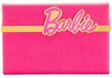 Charlotte Olympia - Barbie Vanina clutch - women - Calf Leather - OS - PINK & PURPLE