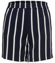 ONLY Striped Shorts Women Blue