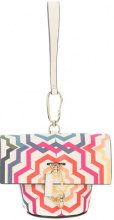 Zac Zac Posen - Belay print mini clutch bag - women - Calf Leather - OS - WHITE