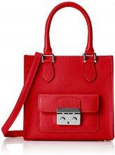 Chicca Borse 8655, Borsa a Mano Donna, Rosso (Red), 21x20x17 cm (W x H x L)