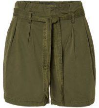 VERO MODA Hw Shorts Women Green