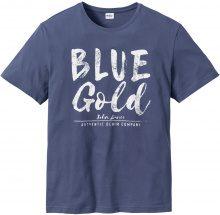 T-shirt stampata regular fit (Blu) - John Baner JEANSWEAR