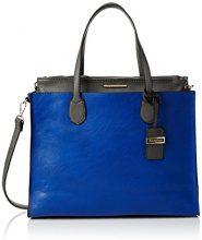 SwankySwans Womens Stanton borsa a tracolla tinta unita a spalla, Blu (Blue (Royal Blue/Grey)), Taglia unica