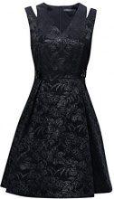 ESPRIT Collection 127eo1e017, Vestito Donna, Nero (Black 001), 42