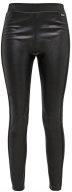 RAPLA - Pantaloni di pelle - black