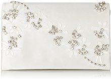 Menbur WeddingRosalinda - Pochette Donna, Avorio (Elfenbein (Ivory 04)), 19x12x8 cm (B x H x T)