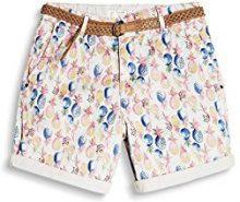 ESPRIT 067ee1c005, Pantaloncini Donna, Multicolore (Pink Fuchsia 660), 42
