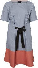 JUNAROSE 2/4 Sleeved Dress Women Grey