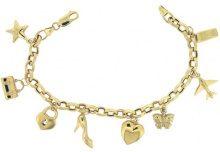 Bijoux pour tous - Bracciale, Oro giallo 375/1000, Donna