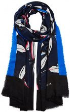 Tommy Hilfiger SPW Leaves Print, Cappello in Felto Donna, Blu (Tommy Navy Mix 903), Taglia unica (Taglia Produttore: OS)