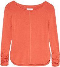 FIND Maglia a Maniche Lunghe Donna, Arancione (Rust), 40 (Taglia Produttore: X-Small)