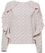 edc by Esprit 028cc1f011, Camicia Donna, Bianco (off White 110), X-Small