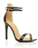 Sandali da Donna Tacco Alto a Stiletto Doppio Cinturnino