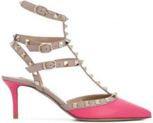 Valentino - Valentino Garavani Rockstud pumps - women - Calf Leather/Leather - 36.5, 37, 39, 41 - PINK & PURPLE