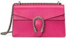 Gucci - Borsa piccola 'Dionysus' - women - Cotton/Leather/Swarovski Crystal/metal - One Size - PINK & PURPLE