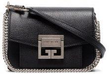Givenchy - Mini borsa a tracolla 'GV3' - women - Goat Skin - One Size - BLACK
