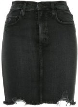 Nobody Denim - Siren Skirt Notion - women - Spandex/Elastane/Cotton - 25, 27, 28, 29, 30, 31, 32 - BLACK