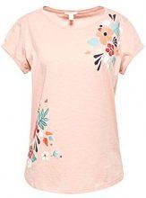 ESPRIT 048ee1k034, T-Shirt Donna, Rosa (Old Pink 680), Medium