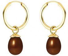 Pearls Colors &, a cerchio, in oro giallo 9 kt, con perla d'acqua dolce, AM-9BOC 133 P5J-CHO