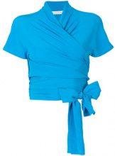 Etro - Blusa con fiocco - women - Silk - 42, 44, 46, 48, 40 - BLUE