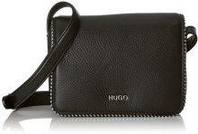 HUGO Mayfair Crossb. Stud - Borse a spalla Donna, Nero (Black), 6.5x14.5x20 cm (B x H T)