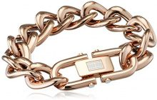 Tommy Hilfiger Jewelry 2700916 Classic Signature - Bracciale da Donna in Acciaio Inox smaltato, 20,5 cm