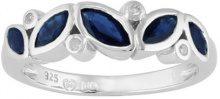 Ivy Gems Donna  925  argento Marquise   blu Zaffiro