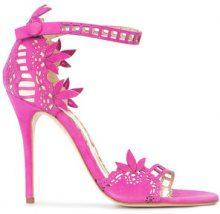 Marchesa - Margaret sandals - women - Leather/Suede - 35, 35.5, 36, 36.5, 37, 37.5, 38, 38.5, 39, 39.5, 40, 40.5, 41 - PINK & PURPLE