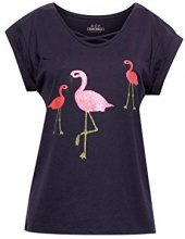 edc by Esprit 048cc1k022, T-Shirt Donna, Multicolore (Dusty Green 335), X-Small