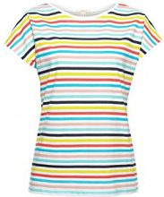 ESPRIT 058ee1k045, T-Shirt Donna, Multicolore (White 100), X-Small